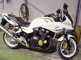 オートバイ車検の受付